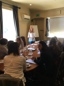 Sian Rowsell business development workshop