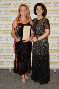 Sian Rowsell Bev James Small Business Coach of the Year